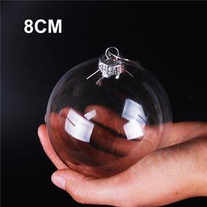 """الزفاف الحلي الحلي عيد الميلاد عيد الميلاد زجاج كرات الديكور 80mm وكرات عيد الميلاد واضح زجاج كرات الزفاف 3 """"/ 80mm وعيد الميلاد"""