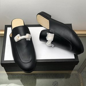 2020 luxe stylist casual shoes women designer designer slides ,Smoking Slipper, Leather star slippers,fashion luxe designer women shoes