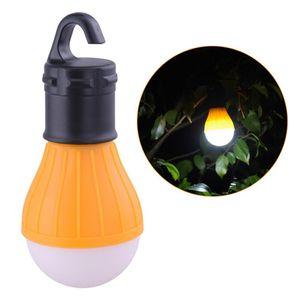 Camping extérieur Lumière 3 Tente portable LED lampe parapluie nuit Randonnée Lanterne Lampe d'urgence Bouton Lampe Ampoule lumière extérieure Camping