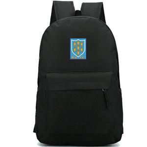 Ballymena mochila BU FC daypack Northern Ireland Football club logotipo mochila futebol emblema da equipe mochila esporte saco de escola bloco do dia ao ar livre