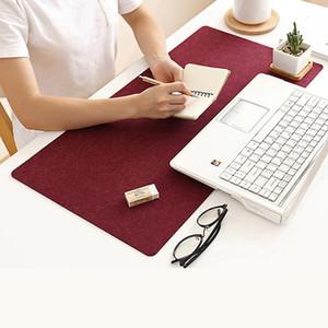 Grande morbido feltro Panno Il mouse pad tastiera Office Notebook PC Laptop Table Mat Studio Computer Desk Mousepad