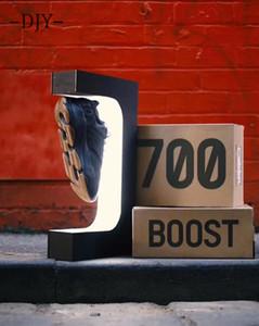 Levitazione magnetica gedgets bottiglia del display scarpa galleggiante Titolare negozio stand di esposizione del campione delle famiglie detiene 600g levitazione peso