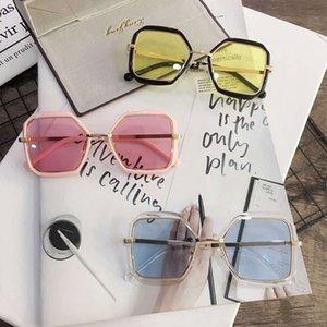 yeni alt kişilik büyük erkekler ve kadınlar Tong Sokak serin renkli film gözlük güneş gözlüğü general akını yendi