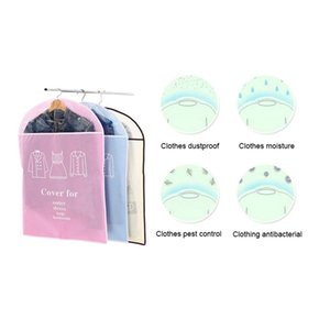 5Pcs Set Hanging Garment Bag Moth-Proof Clothing Covers Dust Proof Cover Clothes Suit Coat Dress Jacket Protector