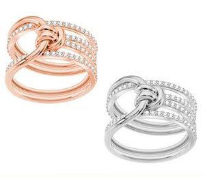 2020 new designer's high-end jewelry women's wide ring, silver, gold, fashion, romantic, elegant and high-quality gift givingcfd4#