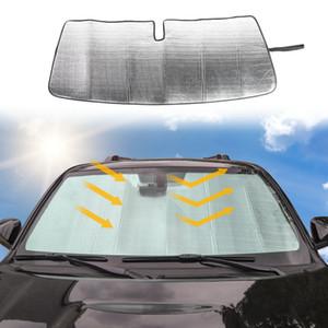 Insulation Aluminum Foil Car Front Windshield Sun Visor Fit Toyota 4Runner   Super 2017+ Car Interior Accessories