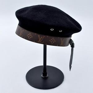 الكلاسيكية قبعة أبي الفاخرة لعبة البولو قبعة و الرجال و القبعات النسائية، والصوف تعديل منحنى الرياضة الأزياء قبعة، أحدث جودة عالية الساخنة