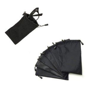 1 PC bolsas suaves del paño del polvo bolsa vidrios ópticos lleva el bolso para Gafas de Sol MP3 / teléfono / Cristal lectura de caída de envío