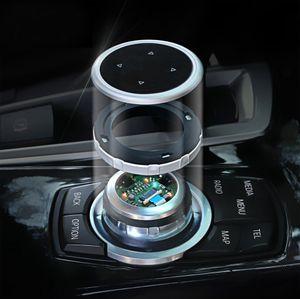 IDrive 자동차 멀티미디어 버튼 커버 M BMW X1 X3 X5 X6 F30 E90 E92 F10 F18 F11 F07 GT Z4 F15 F16 F25 E60 E61 용 스티커