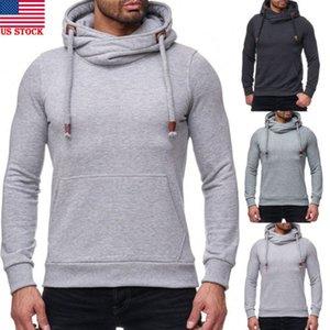 2018 neue Art und Weise Hot populäre Männer-Winter-warme Pullover Pullover Slim Fit T-Shirt Mantel