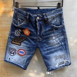 2020 New Summer Denim Shorts Male Jeans Shorts Bermuda Skate Mens Jogger mens designer jeans short