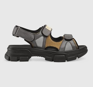 Summer Designer sports sandals me women casual sandals fashion genuine leather outdoor beach large size thick bottom luxury slippers couple