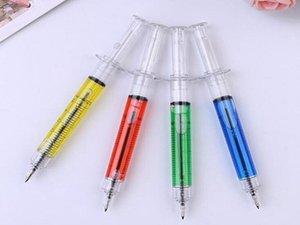 Творческий шариковой ручки иглы шприца шариковых ручек иглы шариковая ручка трюк детских игрушек для студентов