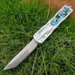 Nuova Benchmade Micro UT85 Coltello automatico Shell Scarab 150-10 Coltello Auto ho esterna Pocket difesa tattica di sopravvivenza coltello BM3300 UT88 Rocket