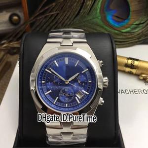 Новые зарубежные 5500V / 110A-B148 стальной корпус синий циферблат автоматические мужские часы 8 цвет спортивные часы из нержавеющей стали высокое качество 41A1