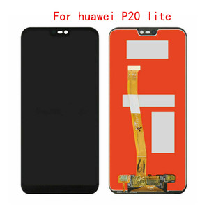 10Pcs For Huawei Nova 3E P20 Lite ANE-LX1 ANE-LX3 LCD Display Touch Screen Digitizer Assessment Parts