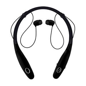 Новый HBS 900S Беспроводная гарнитура с шейным ободом Bluetooth Наушники стерео в ухе Наушники с микрофоном Магнитные наушники с шумоподавлением Бег Спорт