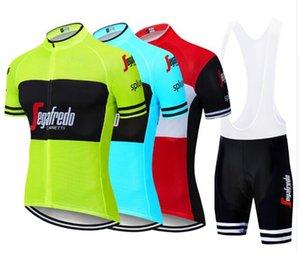2020 Radtrikot Set Männer Sommer-Art-Kurzschluss-Hülsen-einen.Kreislauf.durchmachenkleidung Sportaußen Mtb Ropa Ciclismo Bike Wear