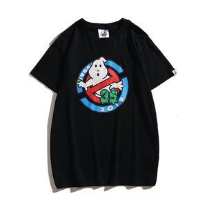Prezzo di fabbrica Nuovo Ape magliette stampa casuale A Bathing girocollo manica corta T-shirt bianca teenager Lovly di stampa del fumetto del cotone di alta Qualit