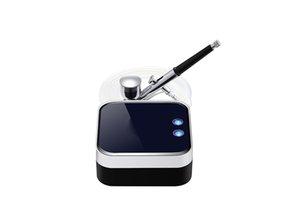 Mini portátil de oxígeno Cuidado de la piel facial de oxígeno / agua en spray Jet Peel máquina / Nano húmedo pulverizador / oxígeno pistola de pulverización de Spa Facial