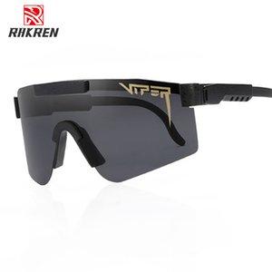 Pit Viper TR90 поляризованные очки Мужчины Мода Дизайн Rimless площади Солнцезащитные очки Зеркало вождения солнцезащитные очки UV400 óculos