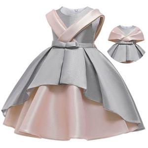 Ins 2020 girl dresses for wedding girls dresses princess dress kids designer clothes girls party dress kids dress formal dresses B1264