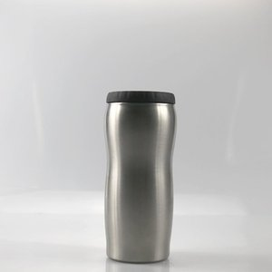 12OZ يمكن تبريد الفولاذ المقاوم للصدأ بهلوان البيرة الباردة حارس منحنى البيرة كوب حالات العسر الشديد علب العزل الأفضل الصيف DRINKWARE فيديكس