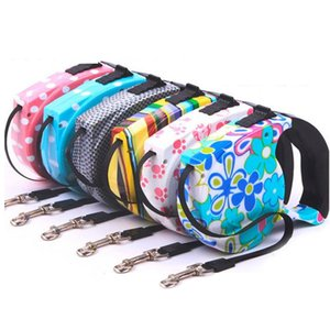 Pet Supplies Dog Collar Leash Automatic Retractable Leash Harness Puppy Rope Walking Cat Traction Small Medium Dog
