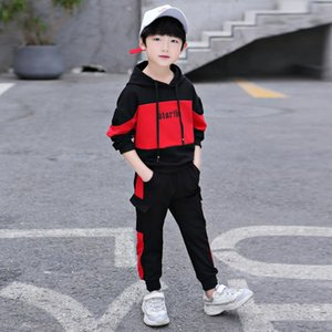 4-12 Years 2019 Fall Fashion Kids Autumn Clothes Clothing Children Hoodies Pants Boys Clothes Set Girls Outfit Kids Tracksuit