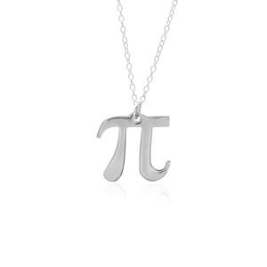 science Pi 3.14 Math Collana Pi Symbol Collana Matematician Teacher Geometry Collana gioielli Regalo per amici e compagni di classe