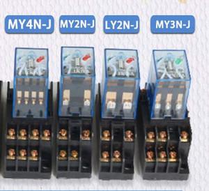 5 Setleri MY4N-J MY2N-J LY2N-J OMRON Yeni Bobin Gerilim Tabanı Ile Genel Amaçlı Düşük Güç Röle 220VAC 24VAC