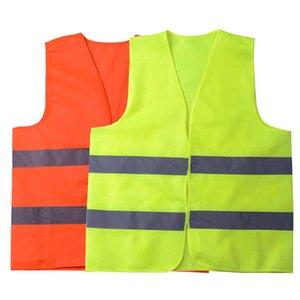 Bande réfléchissante haute sécurité de la circulation Gilets de visibilité Gilet pour Éboueur adjoint de la police Vêtements de travail LJJA3545-15