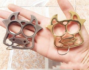 Nuevo NIU Zhihu Key Finger Tiger Iron Dos dedos Autodefensa Arts Martial Arts Supplies Creative Finger Tiger Roto Window