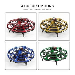 CALDO intelligente induzione UFO quattro assi Aircraft Gesto di rilevamento aereo drone intelligente Sensing induzione sensore a infrarossi Giocattoli Capodanno
