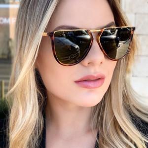 2020 Oversized Sunglasses women Vintage Metal Irregular Sun Glasses Women Brand Designer Shades For Female GLASSES