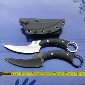 Бесплатная доставка новый ЧПУ камень мыть G10 ручка 440C лезвие выживания охота Karambit Коготь нож C39