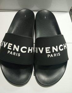 Nuovi donne di lusso Waterfront Mule pistoni degli uomini sandali piani Fashion Shoes Pantofole estate gomma flessibile Suola scorrere pantofole A231