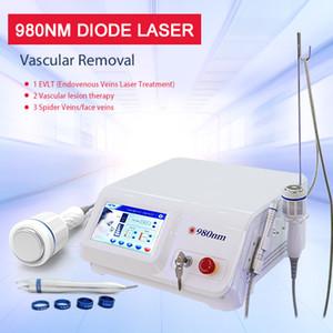 Salão de beleza 980nm Diode Laser Vascular Veias Removal Laser veias da aranha Removal Machine 10 Watt Máquina de Venda