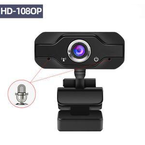 HD Webcam embutida dupla Mics inteligente 1080P Web Camera USB Pro Fluxo Camera for Desktop Laptops PC Game Cam