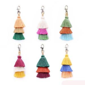 1шт помпоны брелок большой кисточкой брелки для женщин сумка подвески ювелирные изделия брелок ювелирные изделия