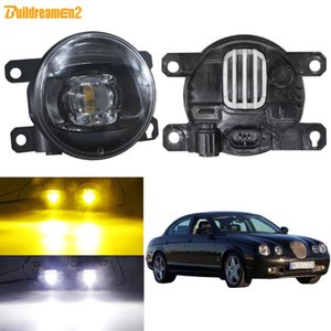 Fog Light Accessories For S-Type (CCX) Saloon 1999-2007 Car Front Bumper LED Fog Lamp H11 30W 8000LM 12V Yellow White