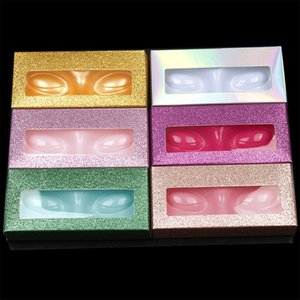 Коробка Упаковки Ресниц Пустой Пакет Ресниц Многоцветный Пустой Бумажный Случай Ресниц 10 Цветов Коробка Упаковки Ресниц Красочные Коробки Ресниц