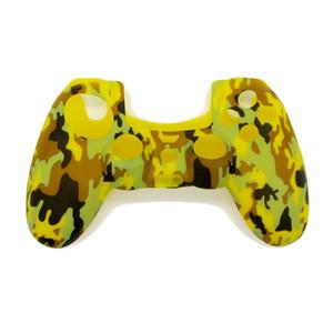 Камуфляж армии мягкий силиконовый гель кожи защитный чехол для PlayStation 4 PS4 Game Controller - # 06