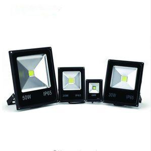 Светодиодные прожектор 10 Вт 20 Вт 30 Вт 50 Вт Открытый прожекторный свет Поток 220 В 240 В Водонепроницаемый IP65 Профессиональная осветительная лампа