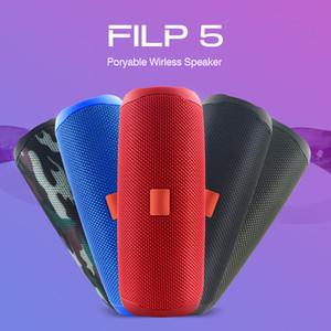 Haut-parleur Bluetooth d'origine Filp5 étanche Portable Outdoor Wireless Mini colonne carte Boîte TF de soutien stéréo Boîtes Salut-Fi Big MP3 T191128