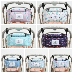 Baby Stroller Organizer Bag Mummy Diaper Bag Top Quality Hook Baby Carriage Waterproof Large Capacity Stroller Accessories Travel Nappy