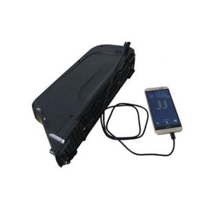 Batterie rechargeable de 36V 17.5ah 850W pour la batterie de downtube de batterie de vélo de dolphin avec le port USB, envoyez le chargeur de Chine