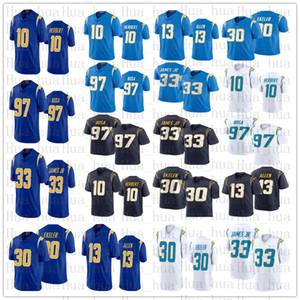 2020 Neue Männer Los AngelesJersey-Ladegerät10 Justin Herbert 97 Joey Bosa Keenan All 33 Derwin James JR 30 Austin Ekeler Jersey