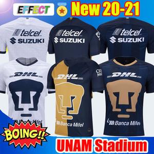 NOVO CHEGOU 2019 2020 UNAM Estádio de Futebol 19/20/21 Clube Marinho Ouro Jersey Castillo Camiseta Día de los Muertos camisas de futebol
