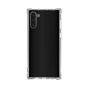 Note10 Anti-shock Soft Clear TPU cover Case For SAMSUNG GALAXY note 10pro phone case Transparent cover